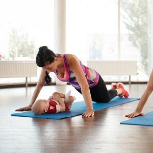 Gym postnatale avec bébé à Toulouse