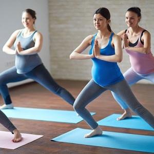 Gym prénatale pour femme enceinte