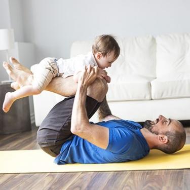 Gym papa et bébé