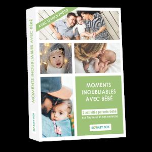 Coffret cadeau original pour bébé et sa famille